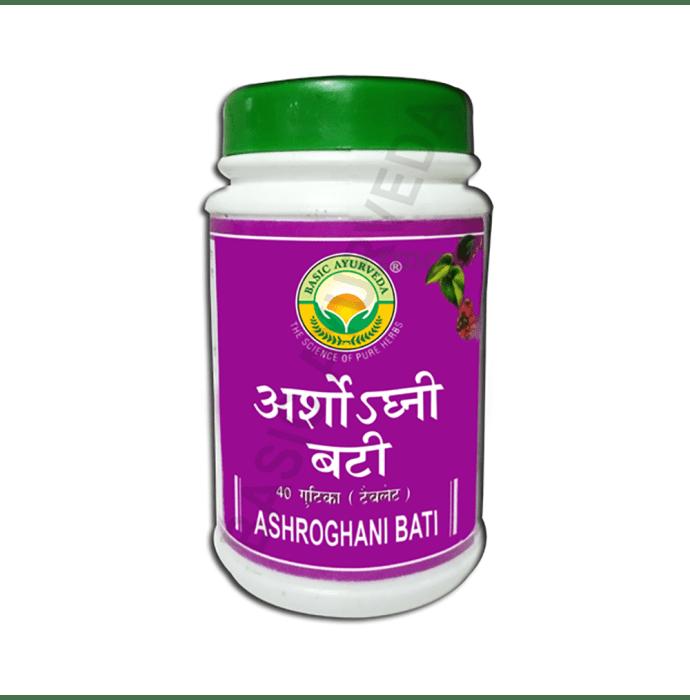 Basic Ayurveda Ashroghni Bati
