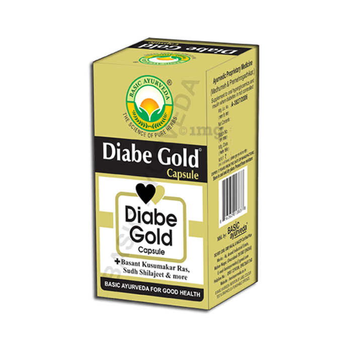 Basic Ayurveda Diabe Gold Capsule