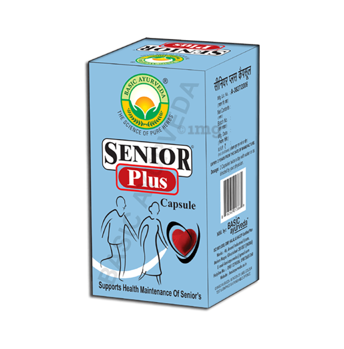 Basic Ayurveda Senior Plus Capsule