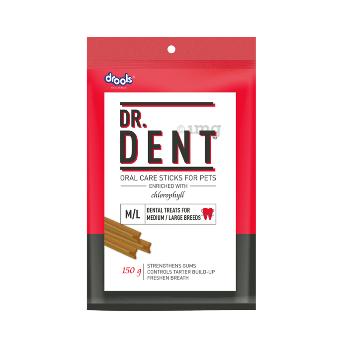 Drools Dr. Dent Oral Care Sticks (For Medium Breed Dog / Large Breed Dog)