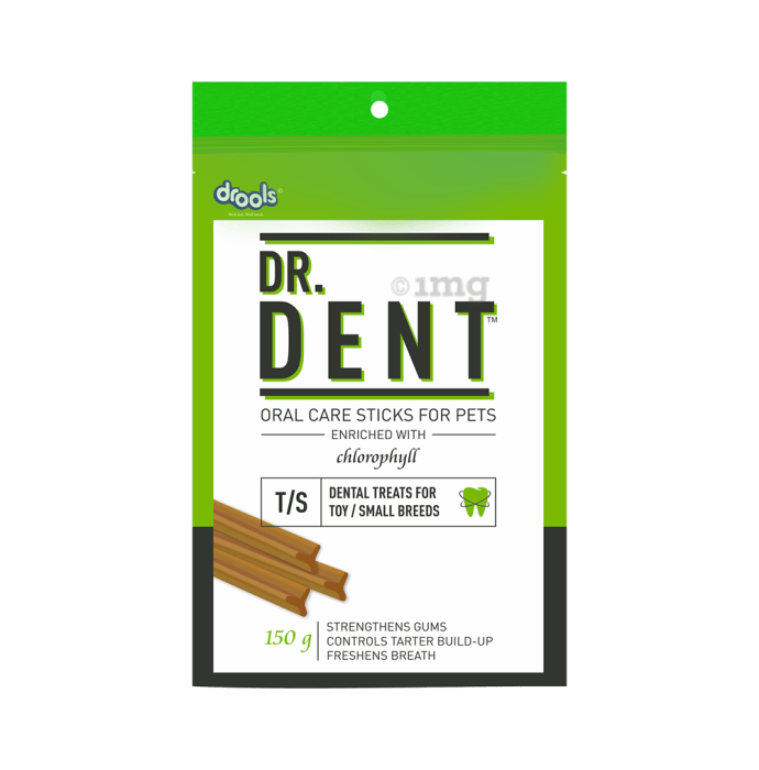 Drools Dr. Dent Oral Care Sticks (For Toy Breed Dog / Small Breed Dog)