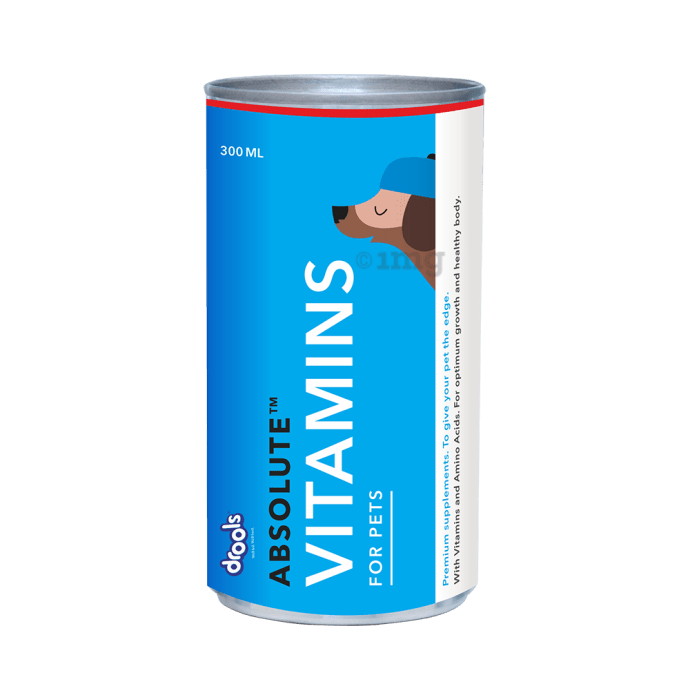 Drools Absolute Vitamin Syrup - Dog Supplement