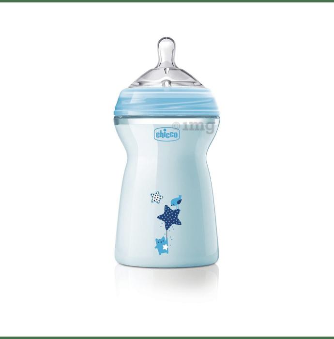 Chicco Natural Feeling 6M+ Feeding Bottle Blue