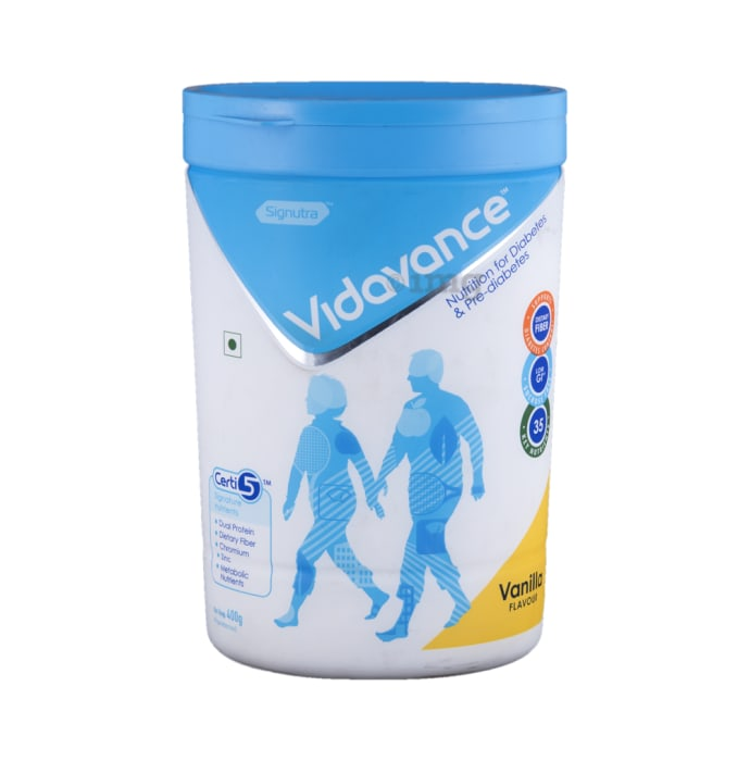 Vidavance Powder Vanilla