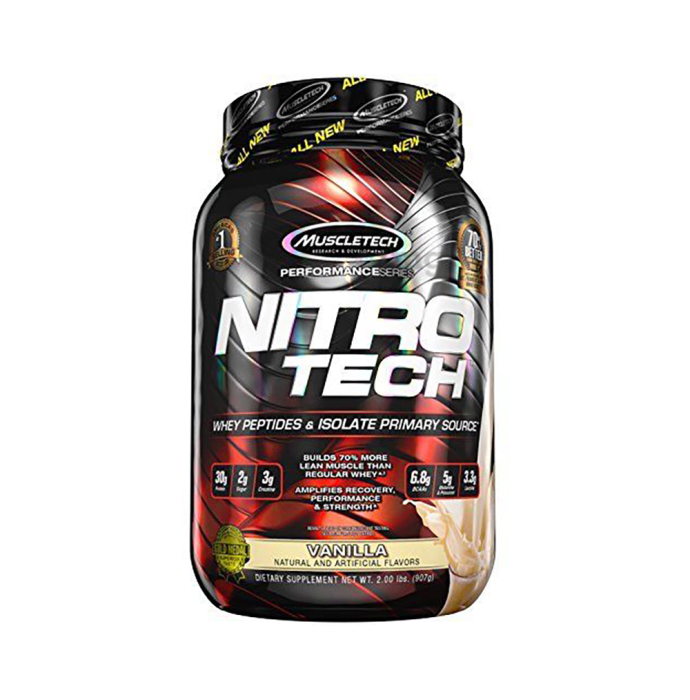 Muscletech Performance Series Nitro Tech Whey Isolate Vanilla