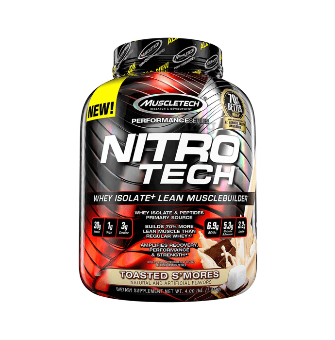 Muscletech Performance Series Nitro Tech Toasted S'mores