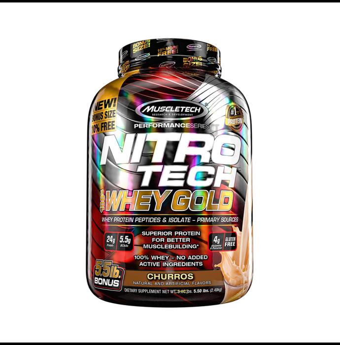 Muscletech Performance Series Nitro Tech Whey Gold Churros