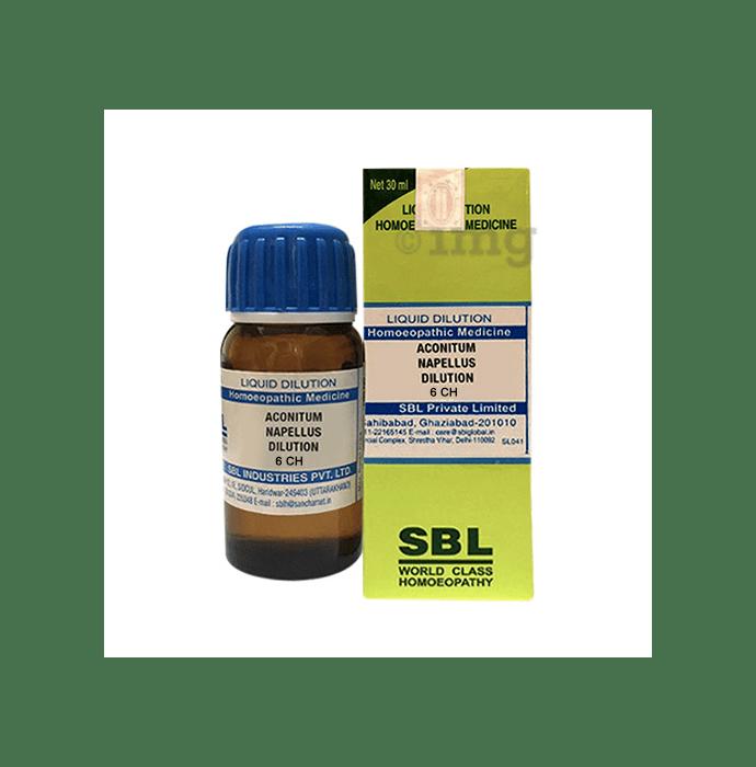 SBL Aconitum Napellus Dilution 6 CH