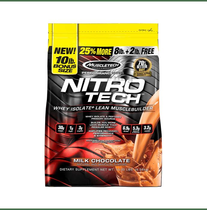 Muscletech Performance Series Nitro Tech Milk Chocolate