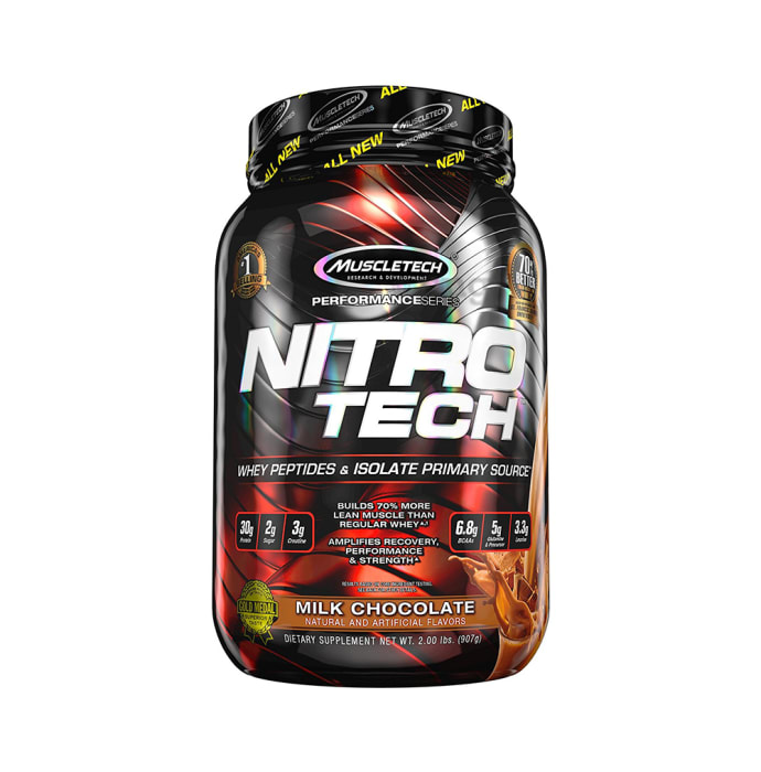 Muscletech Performance Series Nitro Tech Whey Isolate Milk Chocolate