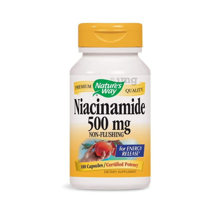 Nature's Way Niacinamide 500mg Capsule