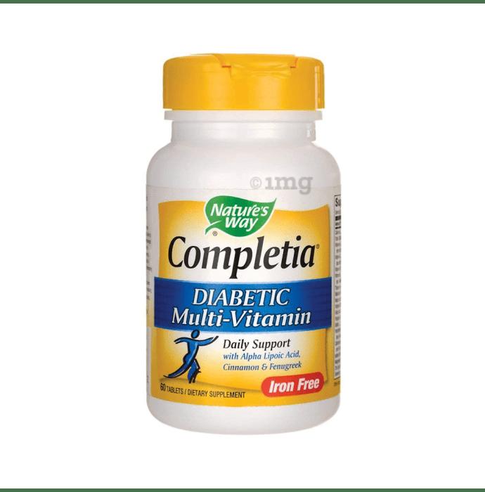 Nature's Way Completia Diabetic Multi-Vitamin Tablet