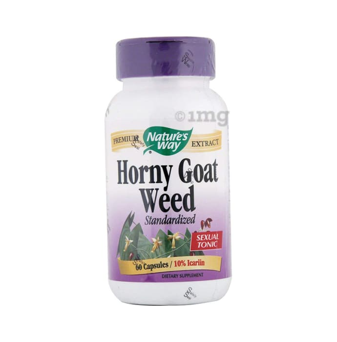 Nature's Way Horny Goat Weed Standardized Capsule