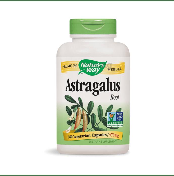 Nature's Way Astragalus Root Vegetarian Capsule