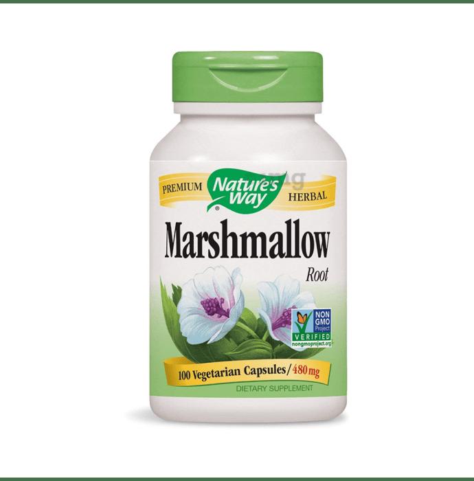 Nature's Way Marshmallow Root 480mg Vegetarian Capsule