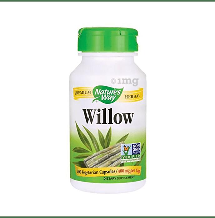 Nature's Way Willow 400mg Capsule