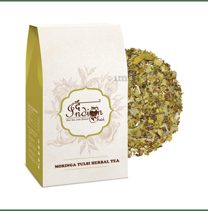 The Indian Chai Moringa Tulsi Herbal Tea