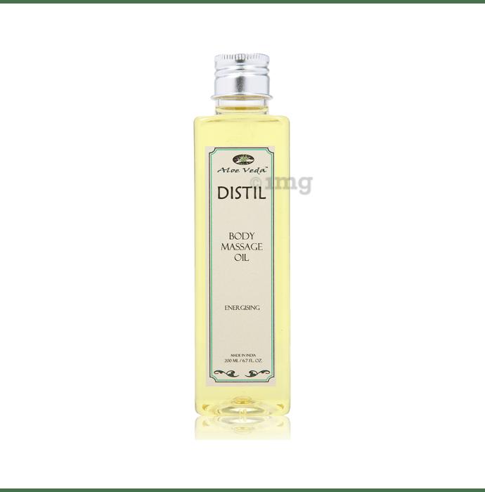 Aloe Veda Distil Body Massage Oil Energising