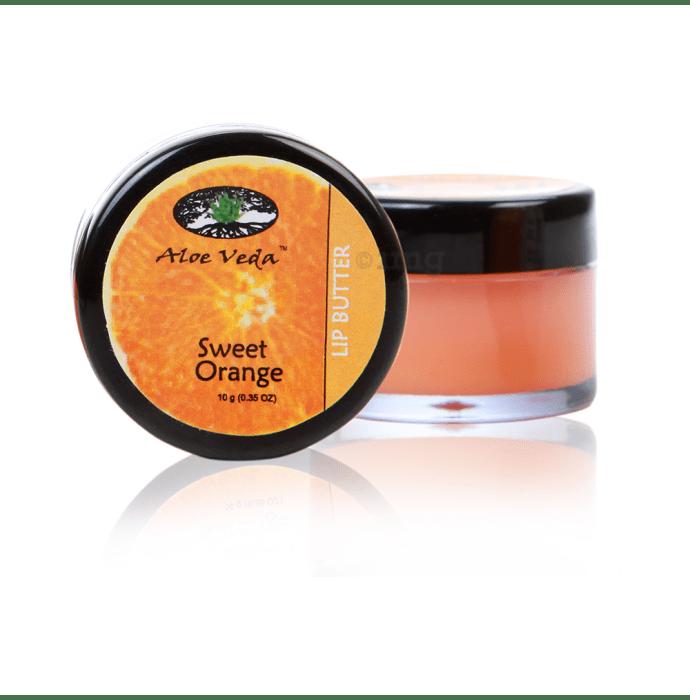 Aloe Veda Lip Butter Sweet Orange