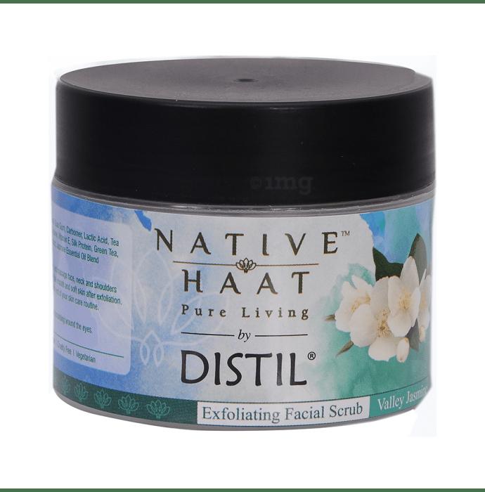 Native Haat Distil Facial Scrub Wild Jasmine