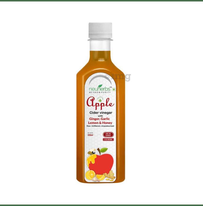Neuherbs Apple Cider Vinegar with, Ginger, Garlic, Lemon & Honey