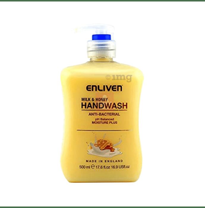 Enliven Anti Bacterial Handwash Milk and Honey
