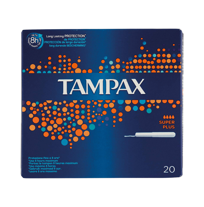 Tampax Tampons Super Plus Flow