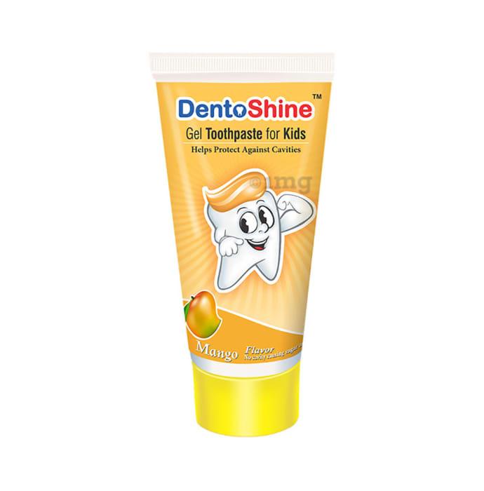 DentoShine Gel Toothpaste for Kids Mango
