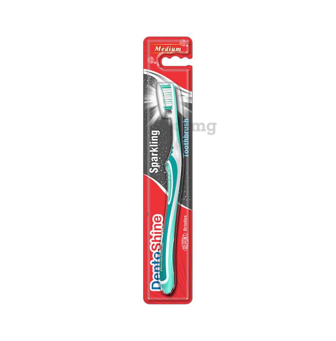 DentoShine Sparkling Toothbrush M Teal