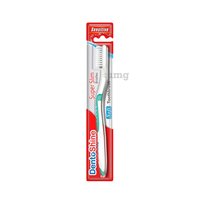 DentoShine Super Slim Toothbrush Green