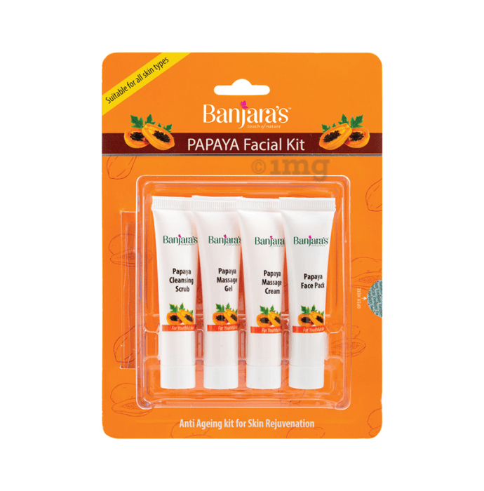 Banjara's Facial Kit Papaya