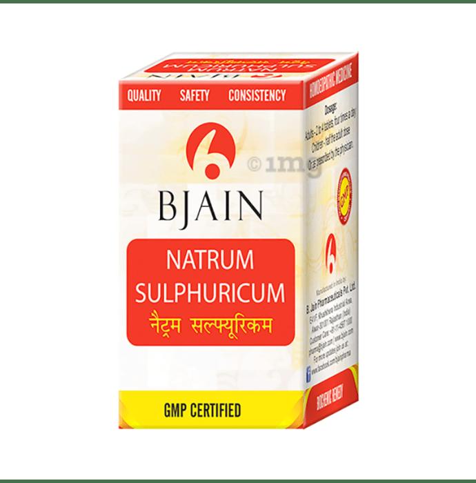 Bjain Natrum Sulphuricum Biochemic Tablet 3X