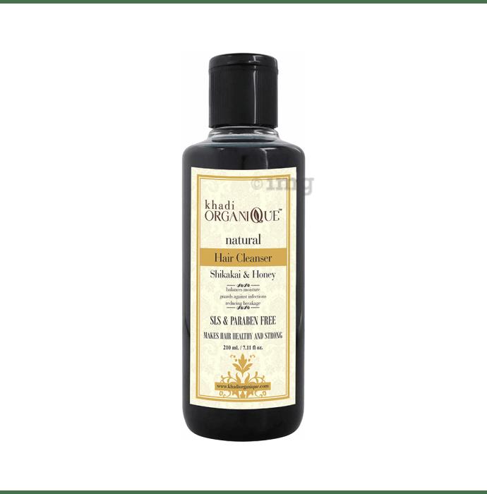 Khadi Organique Natural Shampoo Shikakai and Honey SLS Paraben Free