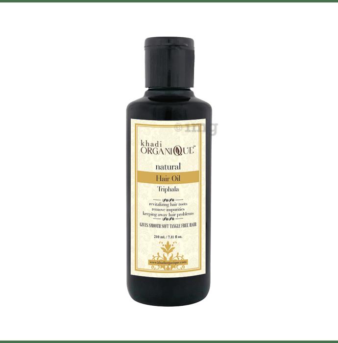 Khadi Organique Natural Hair Oil Triphala