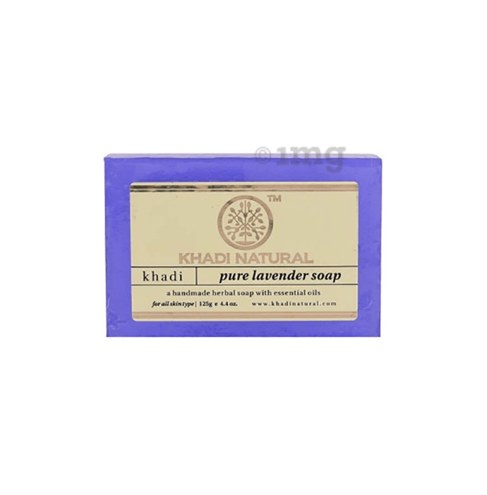 Khadi Naturals Ayurvedic Pure Lavender Soap