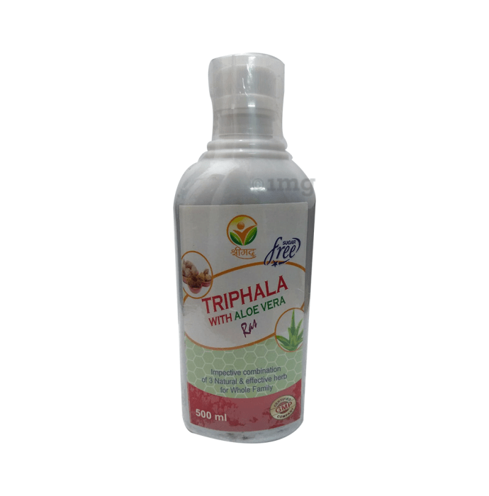 Shrimad Triphala with Aloe Vera Ras