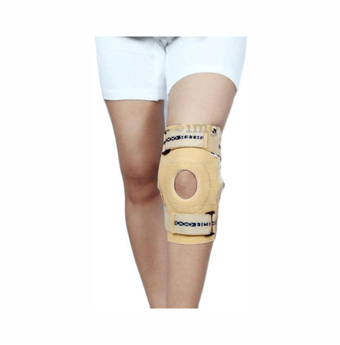 Dr. Expert Elastic Knee Support XXL Skin Colour