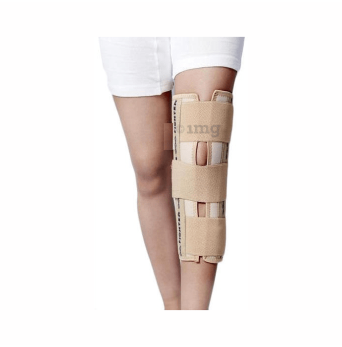 Dr. Expert Knee Immobilizer (Short) S Skin Colour
