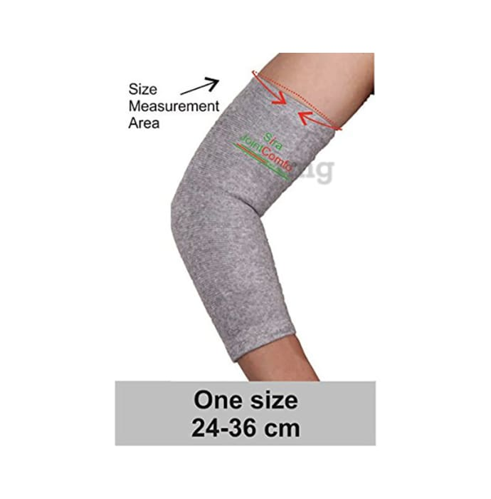 Sira Bamboo Charcoal Elbow Sleeve Support