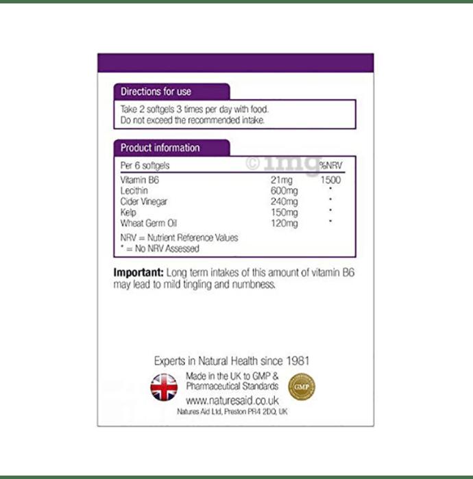 Natures Aid Trim-It Cider Vinegar, Kelp & Lecithin Softgels