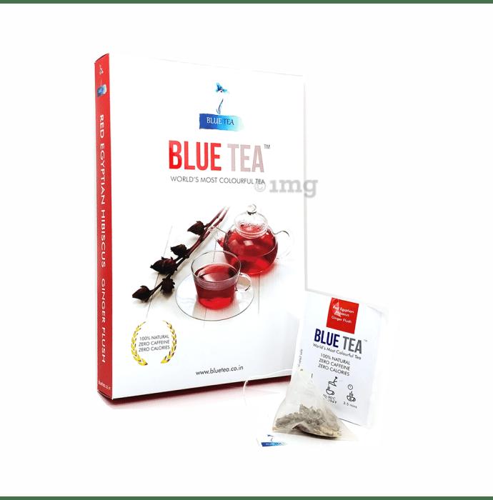 Blue Tea Egyptian Hibiscus Ginger Flush