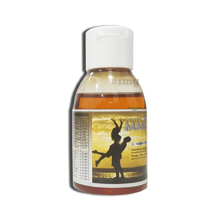 Zeoveda Power Massage Oil