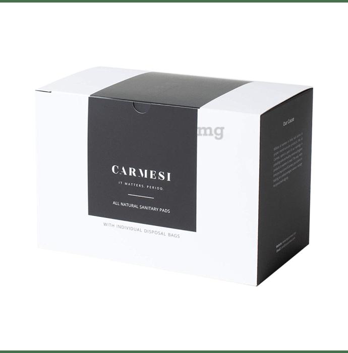 Carmesi All Natural Sanitary Pads (15 Regular and 15 XL)