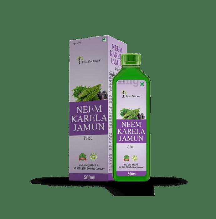 Four Seasons Neem Karela Jamun Juice