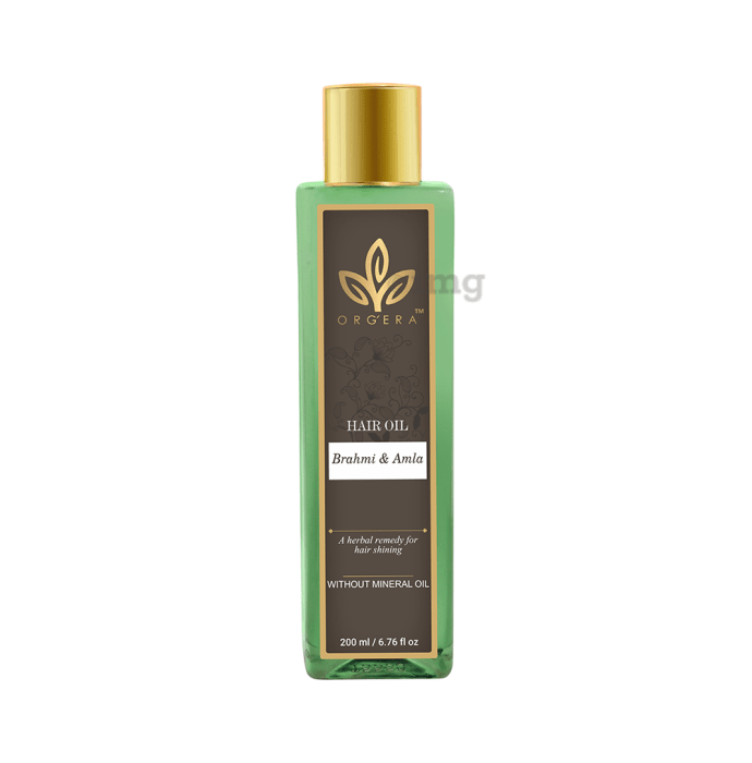 Orgera Brahmi and Amla Hair Oil (without Mineral Oil)