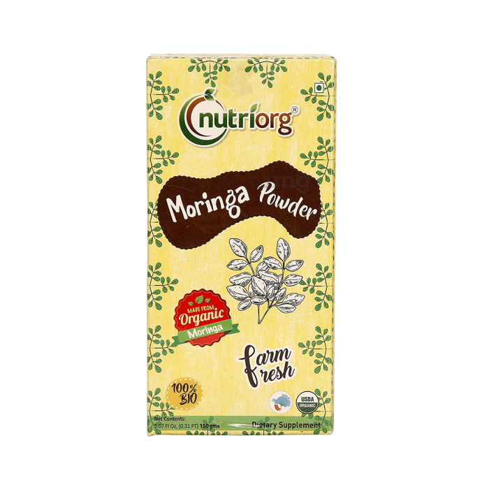 Nutriorg Certified Organic Moringa Powder