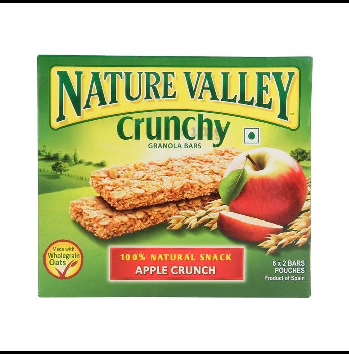 Nature Valley Crunchy Granola Bar (42gm Each) Apple Crunch