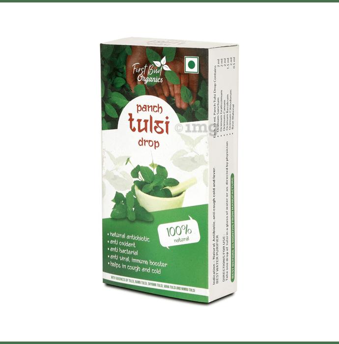 First Bud Organics Panch Tulsi Drop