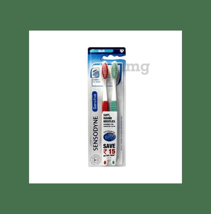Sensodyne Toothbrush Sensitive with Soft Bristles