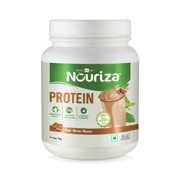 Nouriza Protein with Whey and Casein Cafe Mocha
